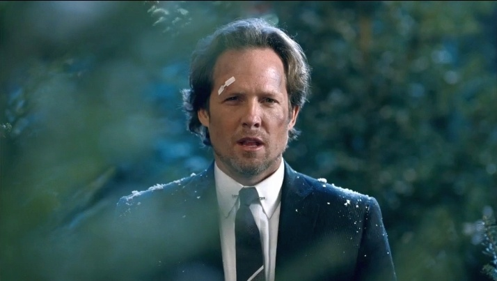 Dean Winters plays Mayhem in the all state commercials and boy oh boy do I want him to wreck my world.