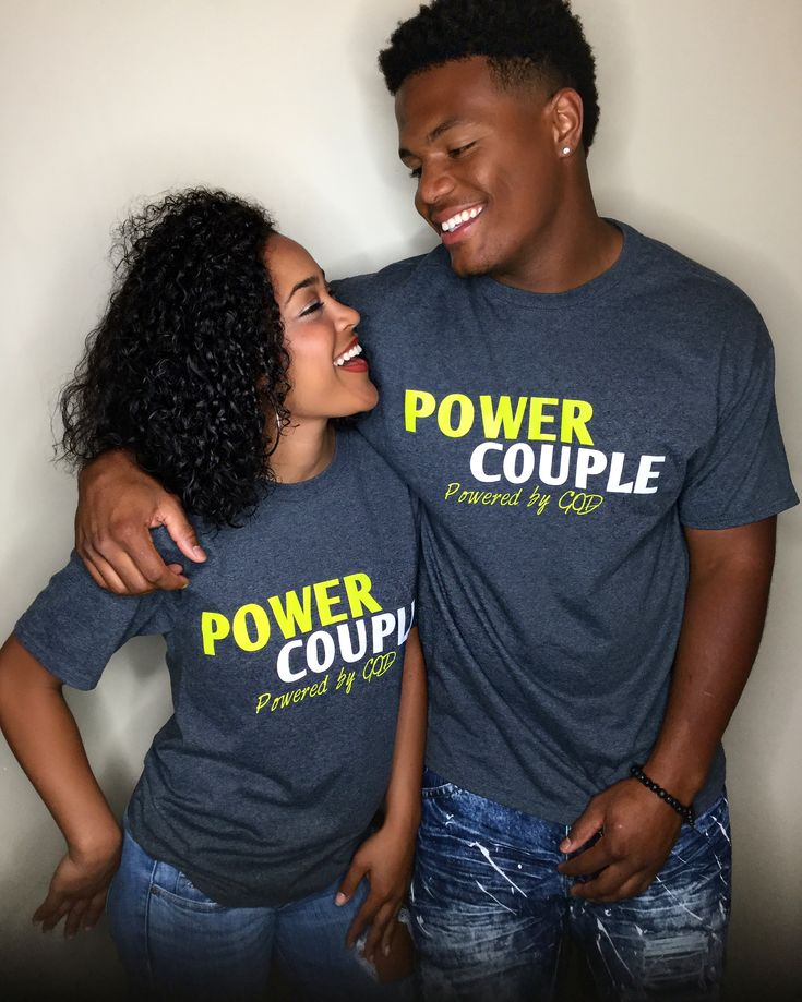 Power Couple t shirts www.PowerCoupleClothing.com