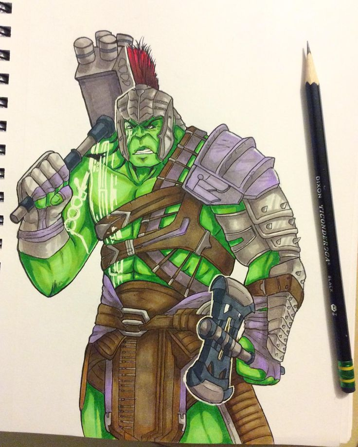I loved Hulk's armor design so much i wanted to doodle him.