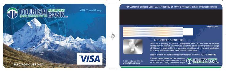 Thẻ Visa Travel Money –  Tourism Development Bank  (Nepal)