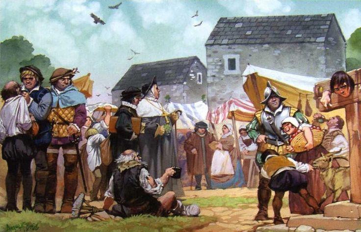 Жизнь на англо-шотландском пограничье (XVI в.)