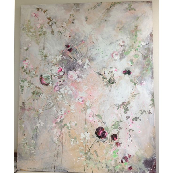 Laurence Amelie for Rachel Ashwell Shabby Chic Couture... 60 x 48...if only I could!! love...
