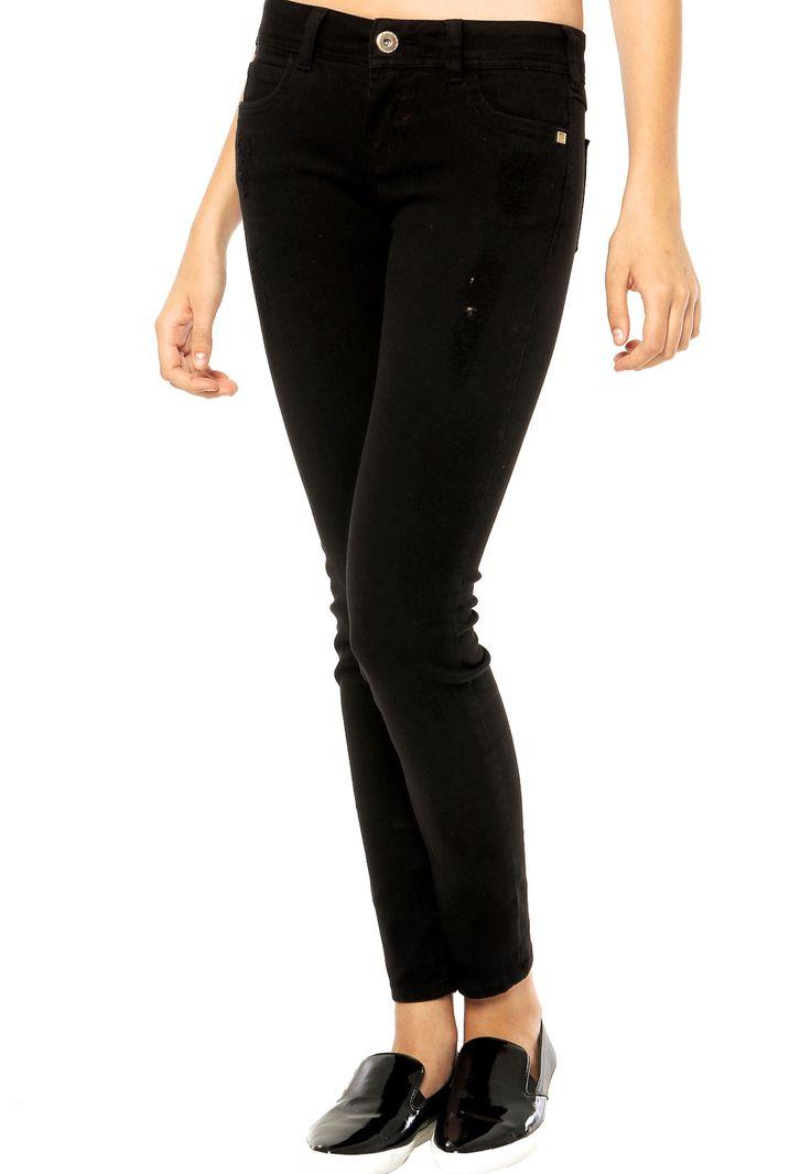 Calça Jeans Colcci Preta - Compre Agora | Dafiti Brasil