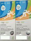 #Ticket  2x Olympia Rio 2016 Tickets Leichtathletik 12.08. #deutschland