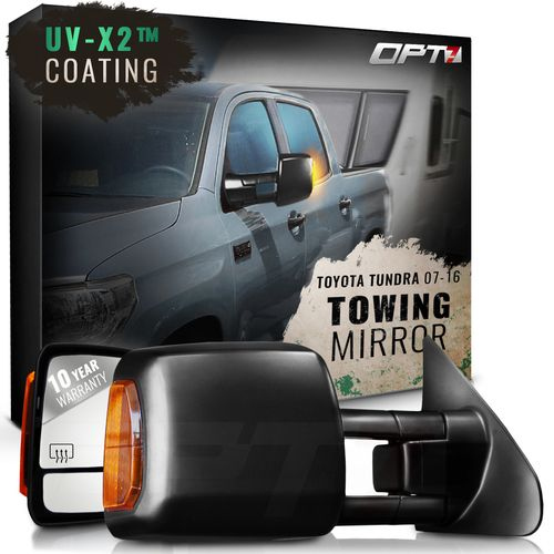 Deluxe Towing Mirrors for 2007-2011 Toyota Tundra