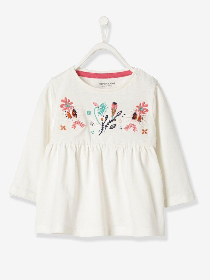Camisola para bebé menina modelo blusa-Bebé 0-36 meses-Vertbaudet   vertbaudet.pt