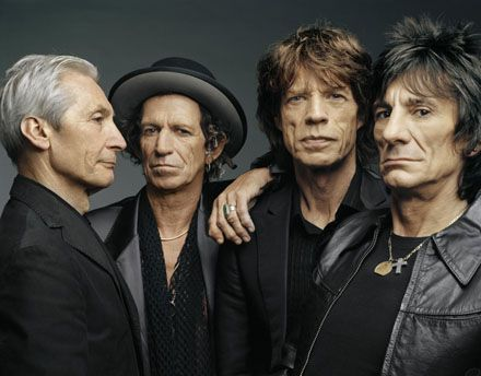 Older, arguably wiser: the Rolling Stones.