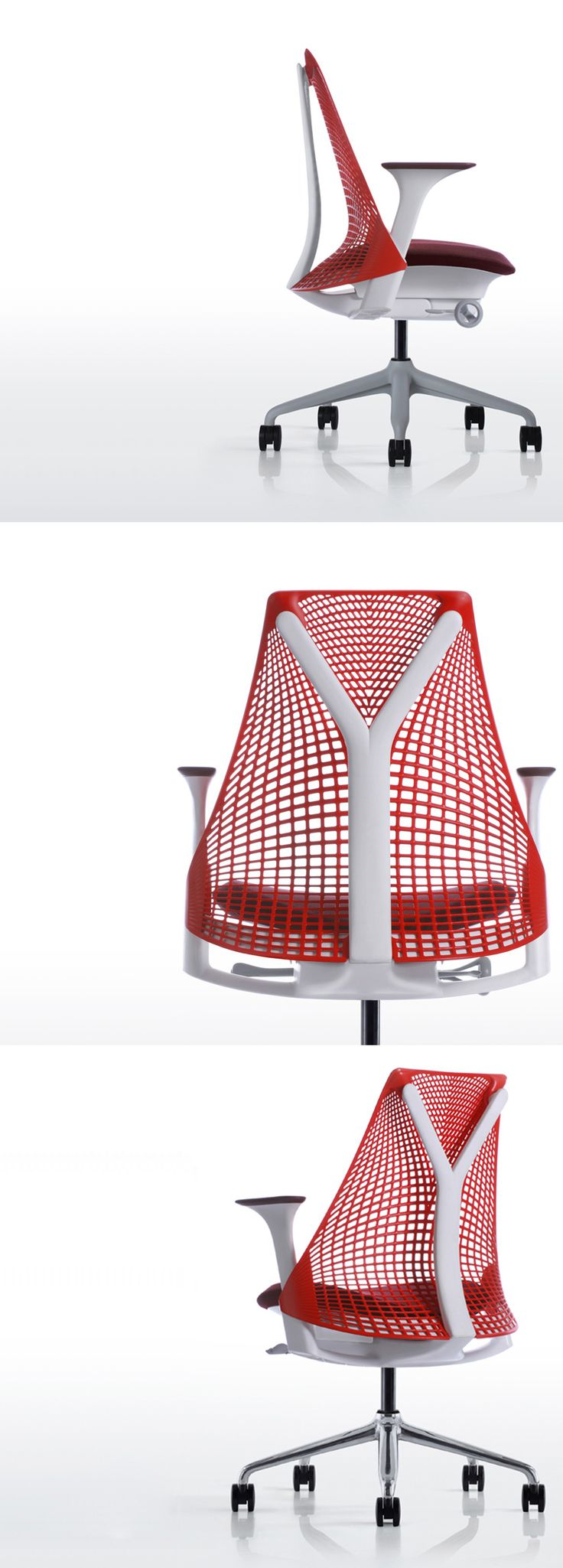 Sayl chair by Yves Behar for Herman Miller. Find Yves Behar's Herman Miller products like the SAYL chair at www.thomasinterior.com