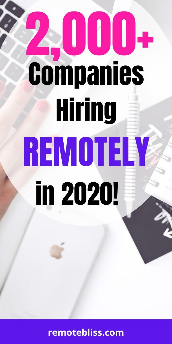 Looking For Remote Work Here S A Massive List Of Over 2 000