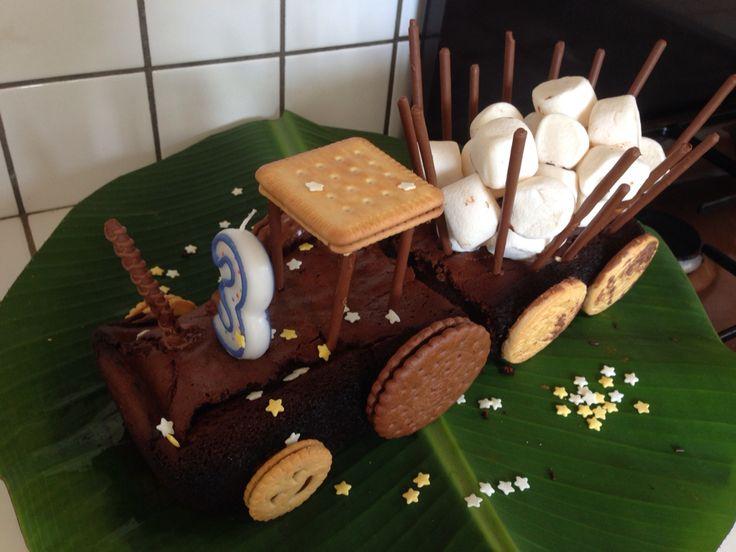 Gâteau tracteur