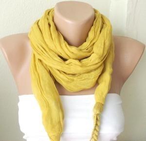 scarf scarf scarf!: Summer Scarves, Scarfs Scarfs, Yellow Scarfs, Cute Scarfs, Scarfs Ideas, Braids Scarfs, Cheap Date Ideas, Yellow Scarves, Mustard Yellow