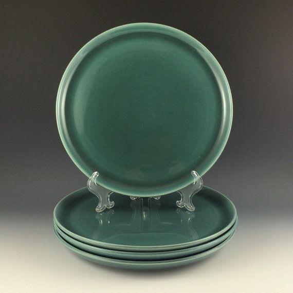 Russel Wright American Modern Dinner Plates in by PrairieDecArts