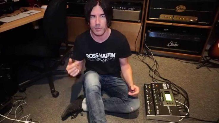Fractal Audio FX8 Multi FX Processor, demo by Pete Thorn