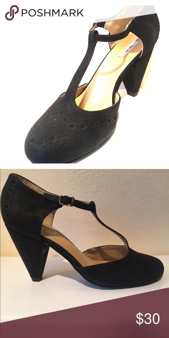 Mary Jane Heel Black Mary Jane Heel Kimchi Blue Shoes Heels