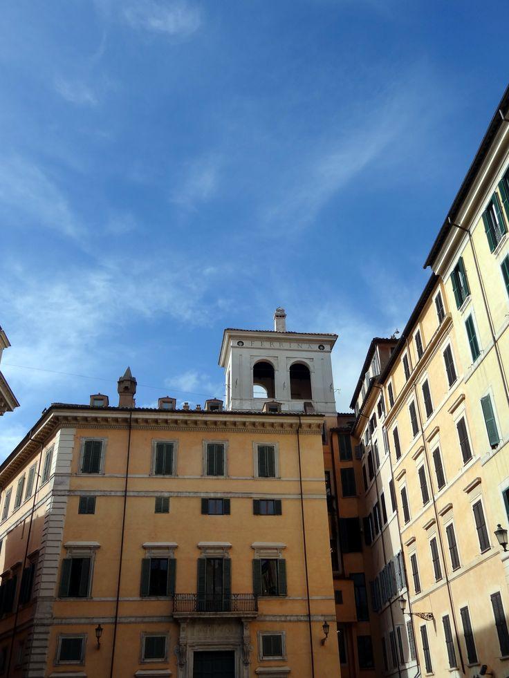 Blue sky in Roma
