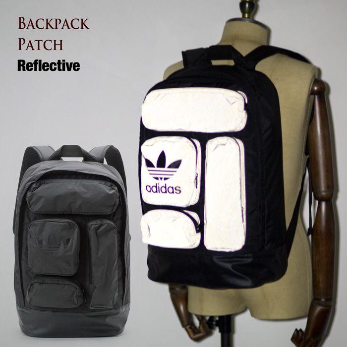 【楽天市場】[アディダス オリジナルス リュック] バックパック パッチ リフレクティブ BRB76 AY8663 adidas originals BACKPACK PATCH REFLECTIVE  レディース メンズ デイパック バッグ:ココチヤ