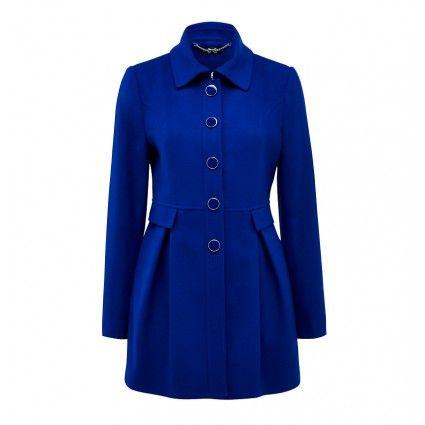 Cobalt Coat from @FOREVER.com New  @Kay Beaver New Zealand #colourfulcoat #winter
