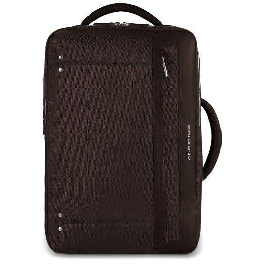 Cartella con portabilità a zaino, tasca porta PC e porta iPad®Air/Air2, organizzazione interna