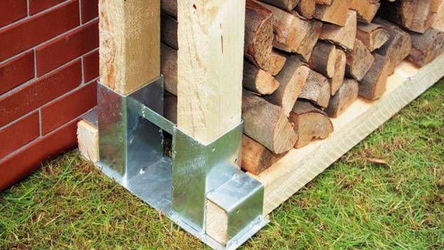 Holzstapelhalter