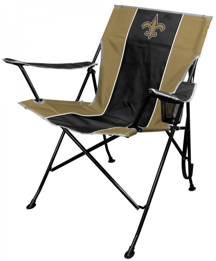 NFL Portable Folding Tailgate Chair Cup Holder Carrying Case Outdoor Furniture #Rawlings
