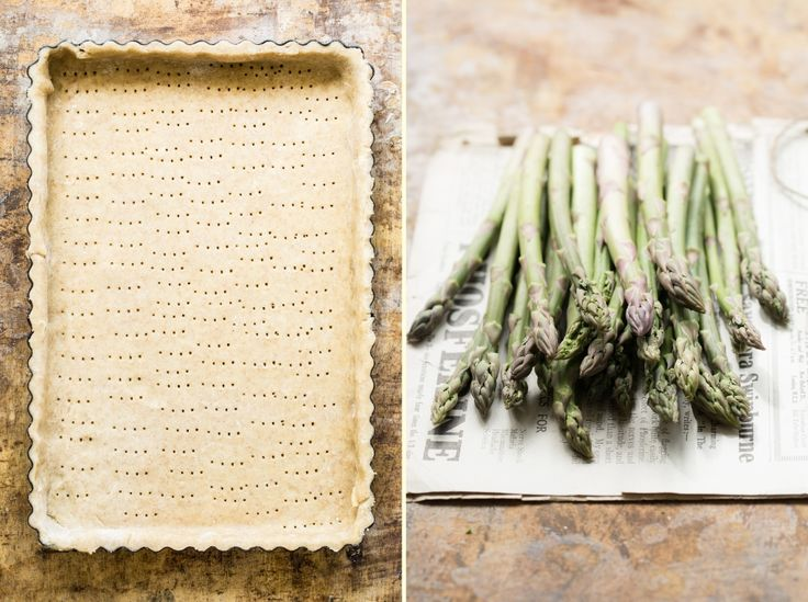 Asparagus SPRING tart.Food photography & food styling.: