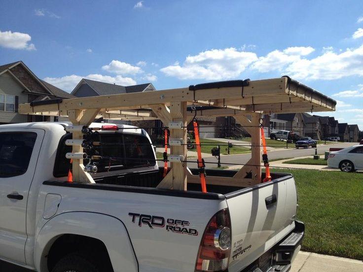 DIY Roof rack for Kayaks in 2020 Kayak roof rack, Kayak