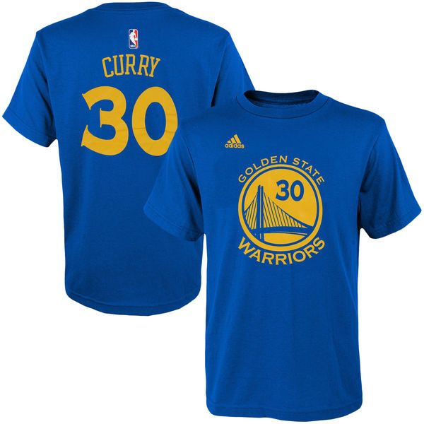 Stephen Curry Golden State Warriors Youth Game Time Player Tee