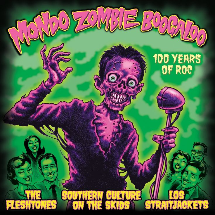 mondo zombie boogaloo 100 years of roc the fleshtones southern culture on the straitjackethalloween - 100 Halloween Songs