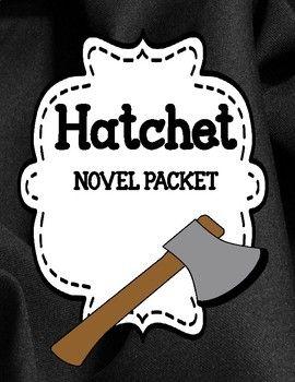 Hatchet - Novel Study Comprehension and Vocabulary Unit