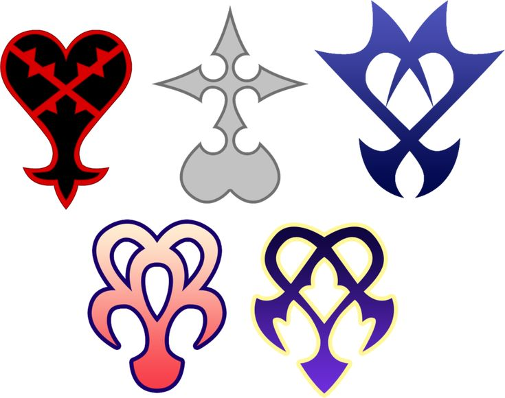 Kingdom Hearts, Heartless, Nobodies, Unversed, Spirit Dream Eaters, and Nightmare Dream Eaters