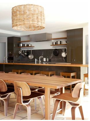 eames dining - yes, please: australian house & garden, via simply grove