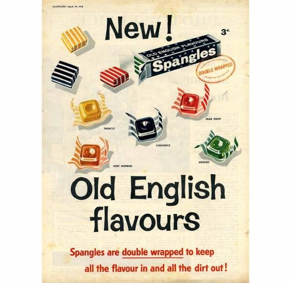 I loved Spangles, especially the Old English ones