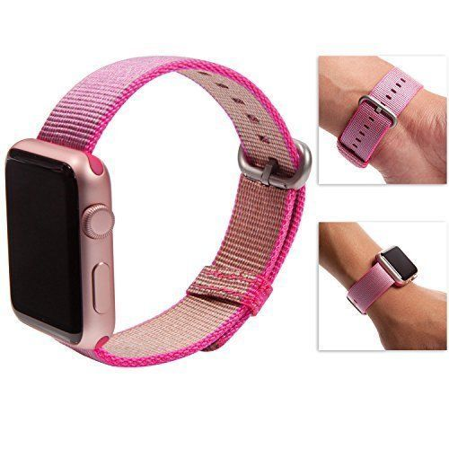 Apple Watch Band iWatch Replacement Strap Waterproof Bracelet Pink For Women NEW #ReplacementBand