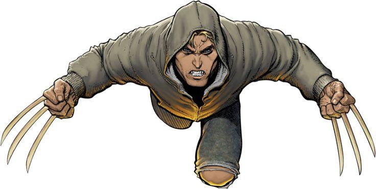 Jimmy Hudson  aka Wolverine's son ...
