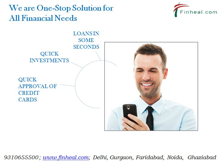 Finheal.com is one-stop solution for all your financial needs. Our online portal offers instant application of loan and Investment products. We provide loans for salaried individuals, self-employed professional and self-employed Businessman. Visit site: www.finheal.com