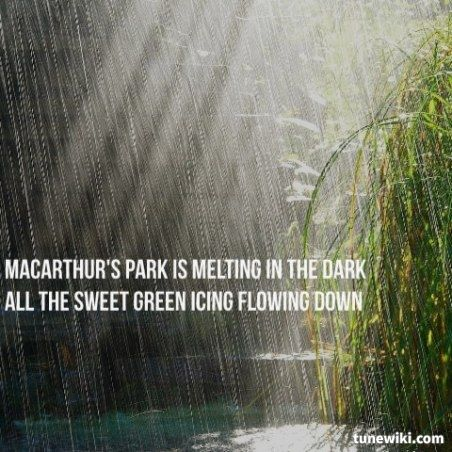 #LyricArt of Macarthur Park  by #DonnaSummer