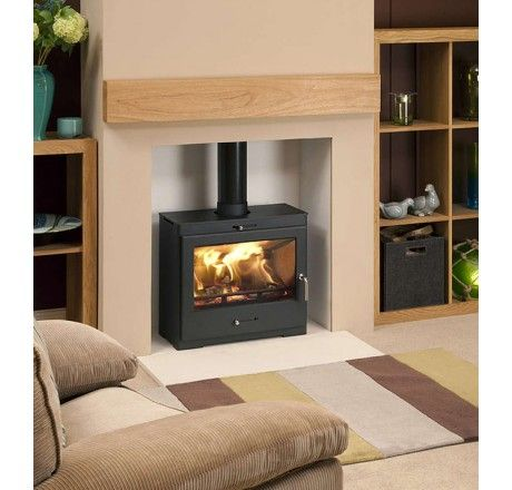 Bohemia X40 Cube Extra Wide Multifuel Defra Stove - Direct Stoves