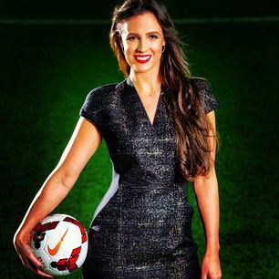 Lucy Zelic - Australia Football Journalist