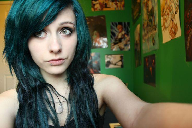 Dark Forest Green Hair Chalk - Hair Chalking Pastels - Temporary Hair Color - Salon Grade - 1 Large Stick $1.99