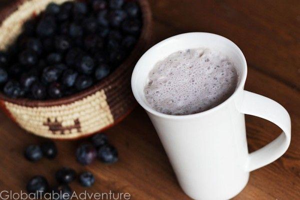 Finnish Blueberry Milk