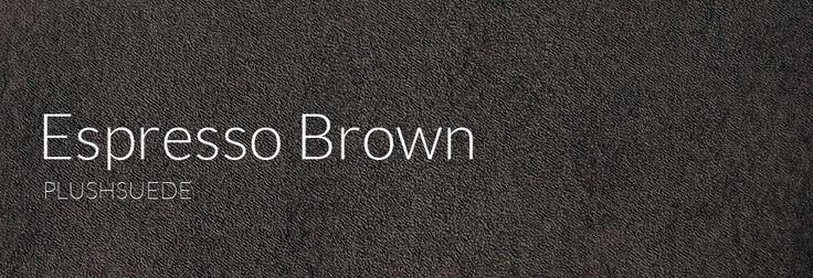 Plushsuede - Espresso Brown