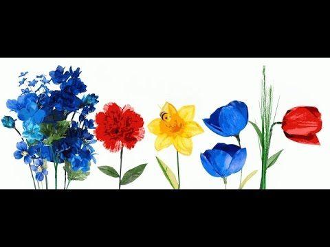 Equinoccio de primavera 2015 Google Doodle,Primer día de la primavera
