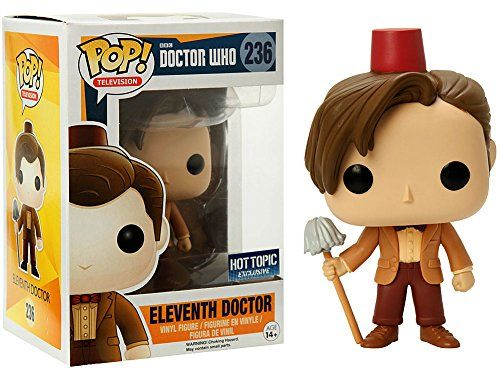 Funko - Figurine Doctor Who - 11th Doctor Fez & Mop Exclu Pop 10cm - 0849803057183: Amazon.fr: Jeux et Jouets