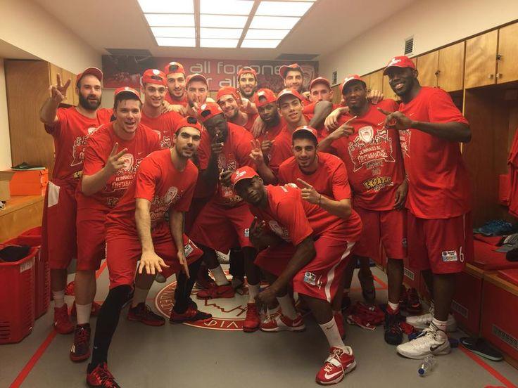 Ολυμπιακός - Παναθηναϊκός 93-74   Basket League 2014/2015 #Champions