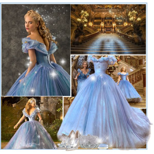 Cinderella by nina1596 on Polyvore featuring Rainbow Club, Disney and Kate Marie