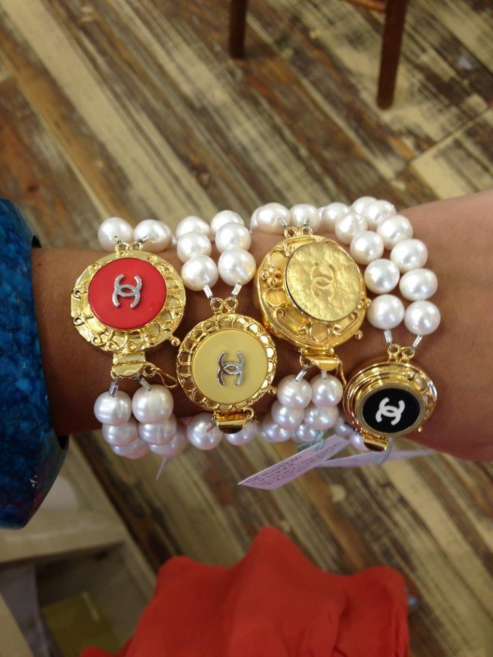 Love These Chanel Bracelets..