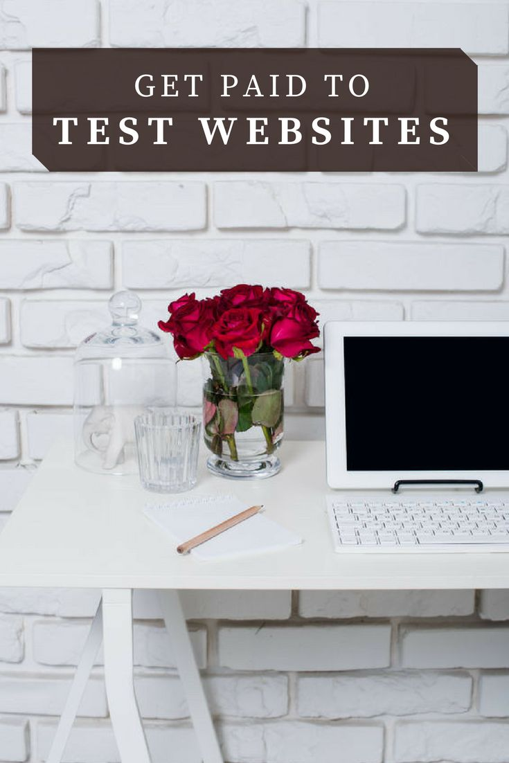 Get Paid to Test Websites Working From Home #WAHM #workfromhome #workathome #stayathomemoms #moms