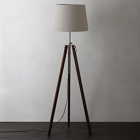 Buy john lewis ethan wood floor lamp online at johnlewis com