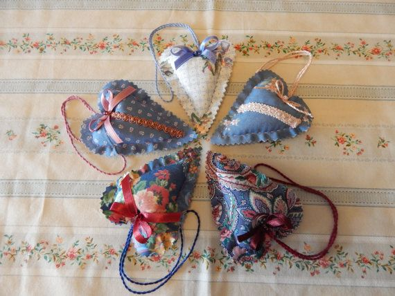 Rose and Rose Sachets by cuoredamore on Etsy