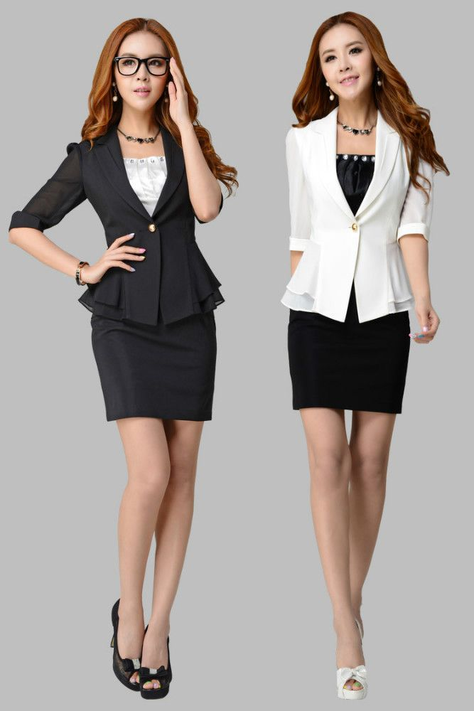 receptionist uniform - Google Search